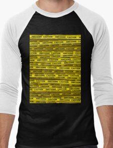 AWESOME, use caution Men's Baseball ¾ T-Shirt