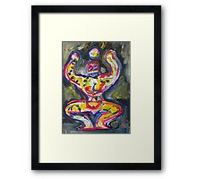 THE POWER of CONFIDENCE Framed Print