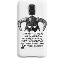 You are the Dragonborn. Samsung Galaxy Case/Skin