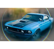 Blue Meanie Photographic Print