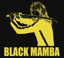 Black Mamba - yellow by Buby87