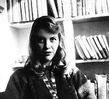 Sylvia Plath by Icarusonia