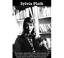 Sylvia Plath Photographic Print