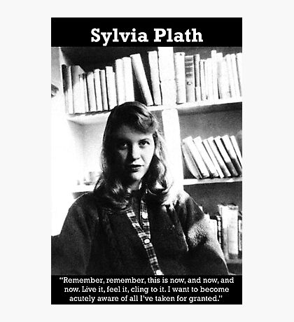 Sylvia Plath Photographic Print