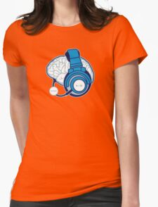 Brain-Sync Womens Fitted T-Shirt