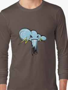 cloudy with a chance of storm Long Sleeve T-Shirt