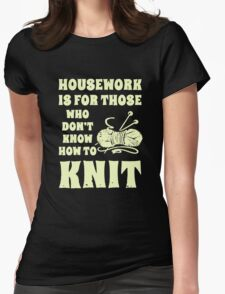 How To Knit T-Shirt
