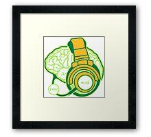 Brain-Sync Framed Print