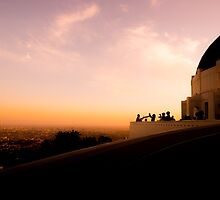 Griffith Observatory Dome - Los Angeles by Jerome Obille