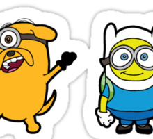 Minion Time Sticker
