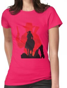 The Cowboy Womens Fitted T-Shirt