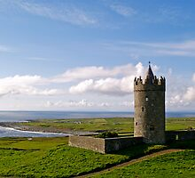 Doonagore Castle near Doolin by Alex Cassels