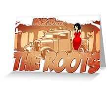 Pinup-Girls: Back to the roots Greeting Card