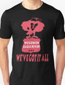Wisconsin Eagle River T-Shirt