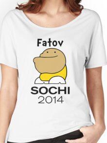 Fatov - Sochi 2014 Women's Relaxed Fit T-Shirt