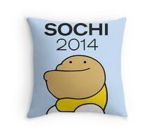 Sochi 2014 (Fatov) Throw Pillow