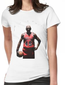 MJ 23 Womens Fitted T-Shirt