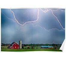 Farm Storm HDR Poster