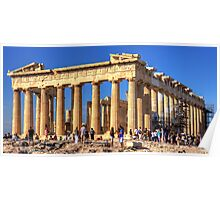 Temple of the Goddess Athena Poster