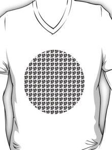 dino 4 black pattern! T-Shirt