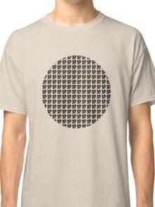dino 4 black pattern! Classic T-Shirt