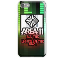 Area 11 phone case iPhone Case/Skin