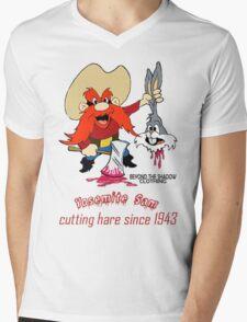 Yosemite Sam Mens V-Neck T-Shirt