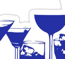 Just Married, Lets Drink! - Wedding Reception Shirt Sticker