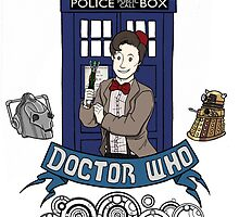 Doctor Who by ArtisticCole