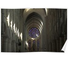 Cathedral of Laon Poster