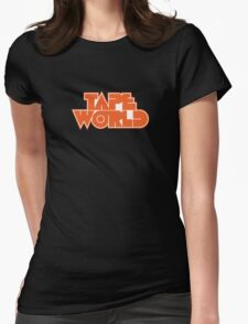 Retro Tape World Womens Fitted T-Shirt