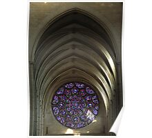 Laon Cathedral, la Rosace Poster