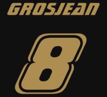 Grosjean 8 Kids Clothes