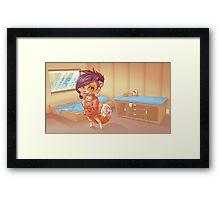 Pretty Cute 3 Framed Print