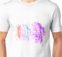 Halsey Colors lyrics Unisex T-Shirt