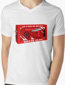 In case of ducks  Mens V-Neck T-Shirt