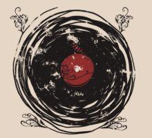 Enchanting Vinyl Records Vintage Twirls T Shirt by Denis Marsili - DDTK