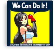 We Can Do it Cloud! Canvas Print