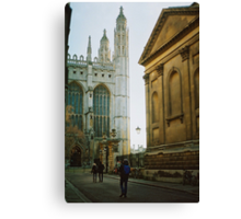 colleges in the sunset Canvas Print