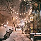 East Village in the Snow - New York City by Vivienne Gucwa