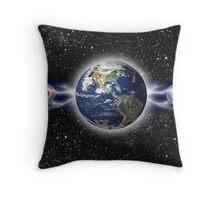 spherical trinity Throw Pillow