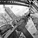 Reflection on old and new Manchester by Stephen Knowles