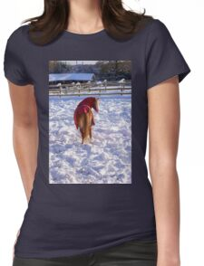 Does My Bum Look Big In This....???? Womens Fitted T-Shirt