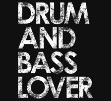Drum & Bass Lover Kids Tee