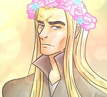 Flower Crown Thranduil by Jo Lingard