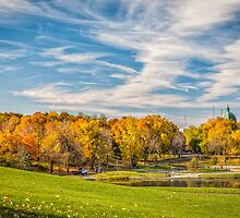 Fall colours in Mont Royal Park by PhotosByHealy