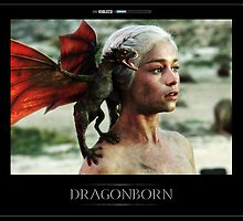 Dragonborn Khaleesi by NathanHall93