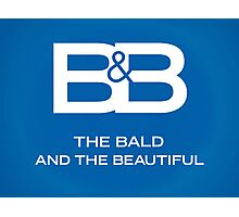 The Bald & The Beautiful Photographic Print