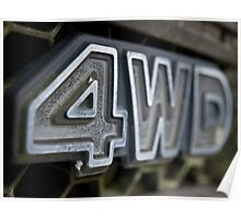 4WD Poster