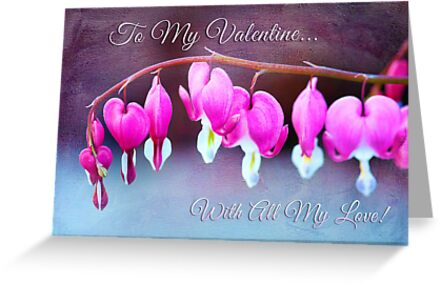 Hearts and Flowers for Valentine's Day by Anita Pollak